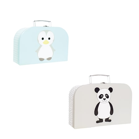 Jabadabado Pappväska Pingvin & Panda