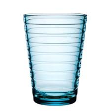 Aino Aalto glas 33 cl ljusblå 2-pack