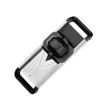 Mandolinjärn 37x12,5cm stål/svart