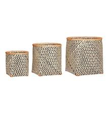 Nature bamboo korg 3 st
