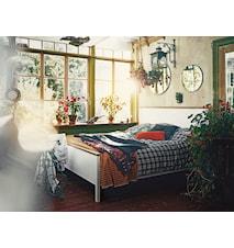 Emmaboda sängram - Vitlack/oljad ek