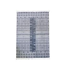 Teppe Julia 160x230 cm - Svart/Hvit