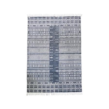 Matta Julia 160x230 cm - Svart/vit