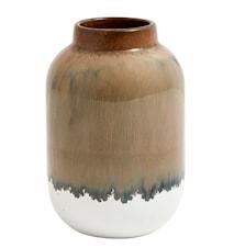 Vas Nature 13 cm - Brun