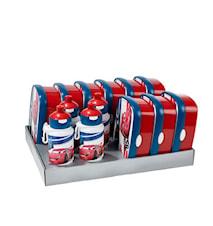 Matlådsset inkl. vattenflaskor Bilar 13-delar