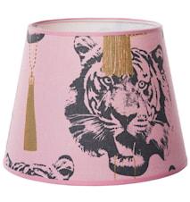 Coco tiger lampskärm - Pink