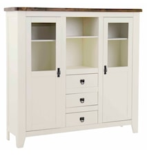 Lyon Highboard/vitrin