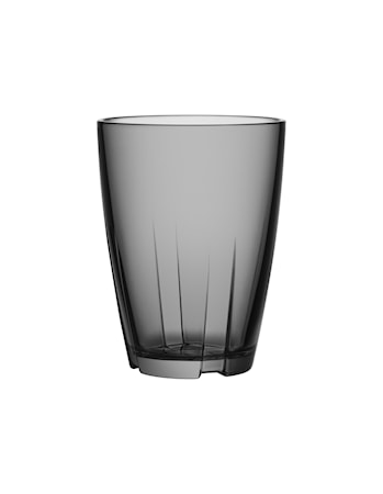 Bruk Grå Dricksglas Stor (2-pack)