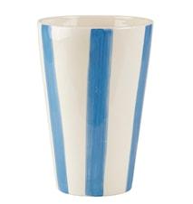 Vas Randig Havsblå 25 cm