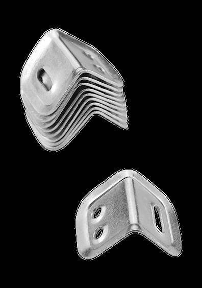 Monteringsvinkler til benkeplate (10 stk)