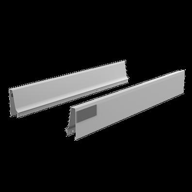 Sider og softlukk-skinner til 56,5 cm dyp skuffe