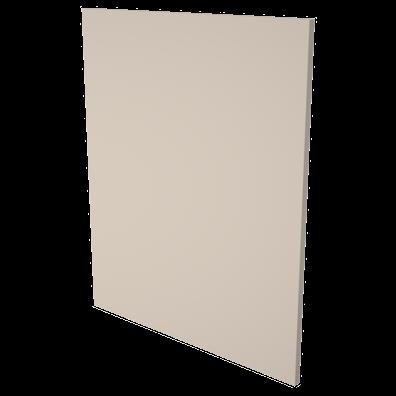Gavl/sidedekkpaneler dybde 58,5 cm