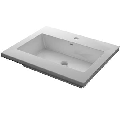Mabre Bagno helstøpt håndvask 51 cm dyp