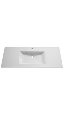 Mabre modell Prisma solid surface håndvask 51 cm dyp