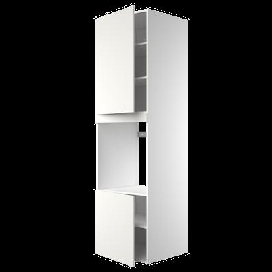 Høyskap 211,2 cm høyt til ovn med 2 dører og 5 hyller