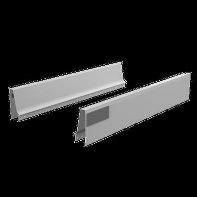 Sider og softlukk-skinner til 47,5 cm dyp skuffe