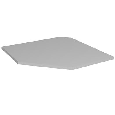 Hjørnehylle til diagonalskap