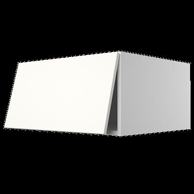 Toppskap dybde 56 cm med topphengslet dør, oppheng og ventilasjon