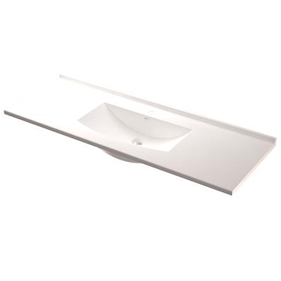 Håndvask modell Ellis helstøpt dybde 51 cm