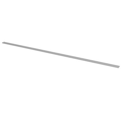 Gulvprofil i klar plast (120 cm)