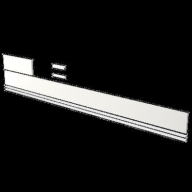 Sokkelpakke med ende/forsokkel og profiler (lengde 238,4 cm)