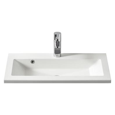 Mabre Prisma helstøpt håndvask 36 cm dyp