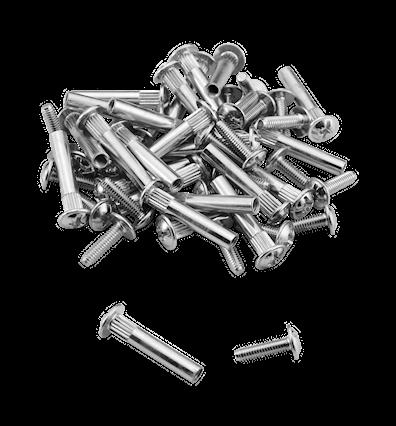 Monteringsskruer metall – 25 stk