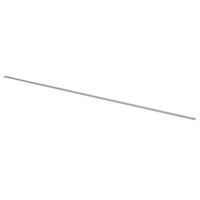 Gulvprofil i klar plast (240 cm)