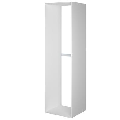 Skap for innbygging 211,2 cm høyt uten dør til integrering av kjøl/frys