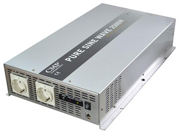 Inverter 2500W 24V äkta sinus