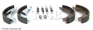 Bromsback sats 4 st bpw  250x4