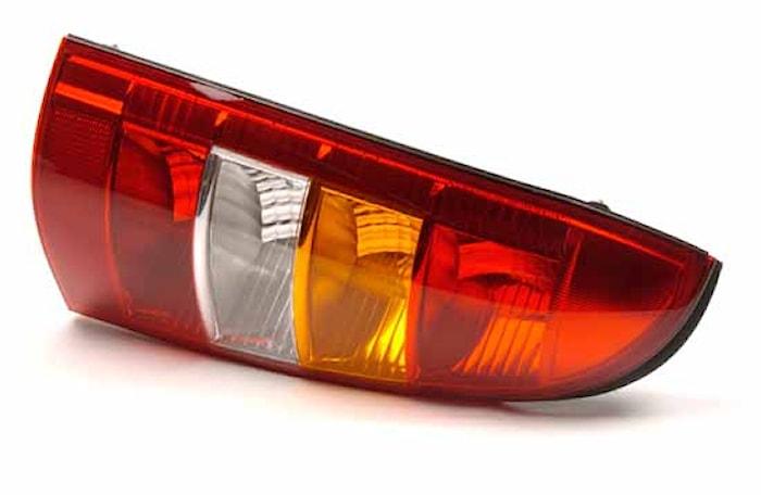 Lyktins hö för bakl Opel Astra
