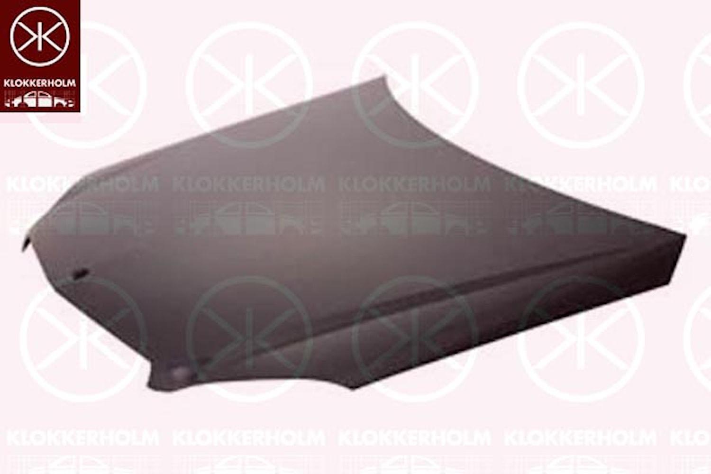 Motorhuv aluminium