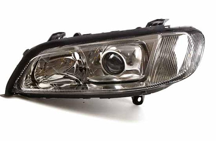 Strålk vä Xenon/H7 Opel Omega