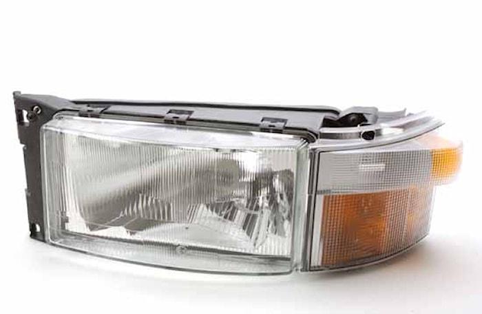 Strålk vä H4 m blinkl Scania 4