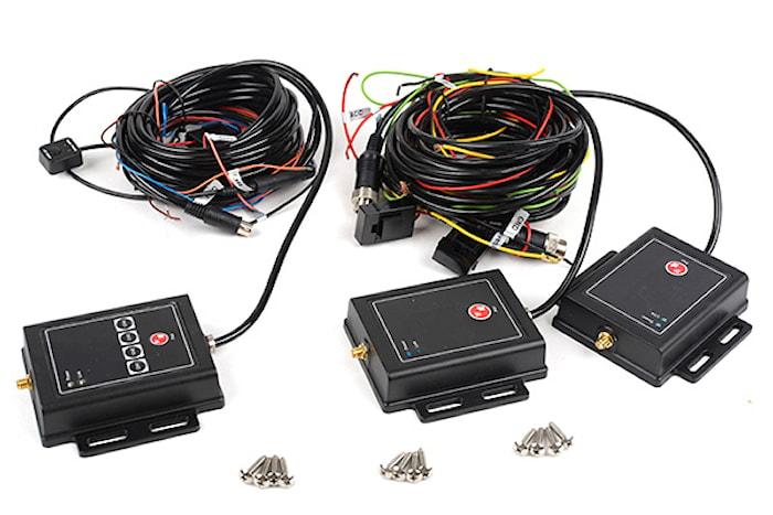 4-kanal trådlös sänd & mottag