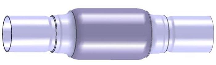 Flexrör 61x90x250