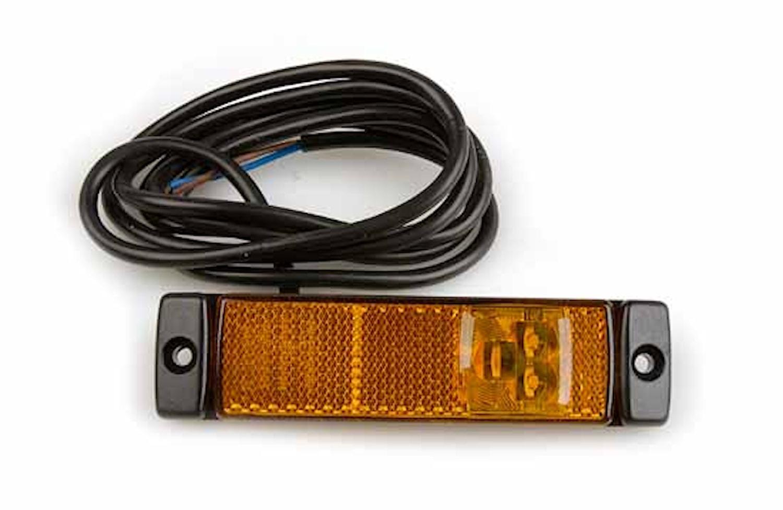 Sidomark.lykta 24V LED m refle
