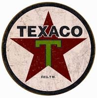 Plåtskylt/Texaco 1936