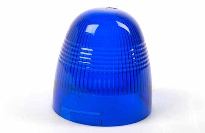 Lykthuv blå f varn.fyr Rotafle