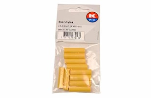 Skarvhylsa 2,5-6,0mm² gul