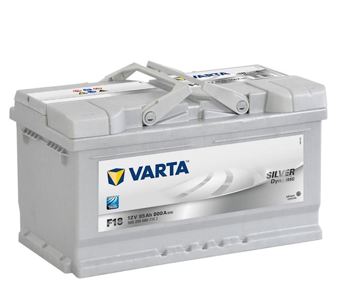 Batteri F18 Silver Dynamic