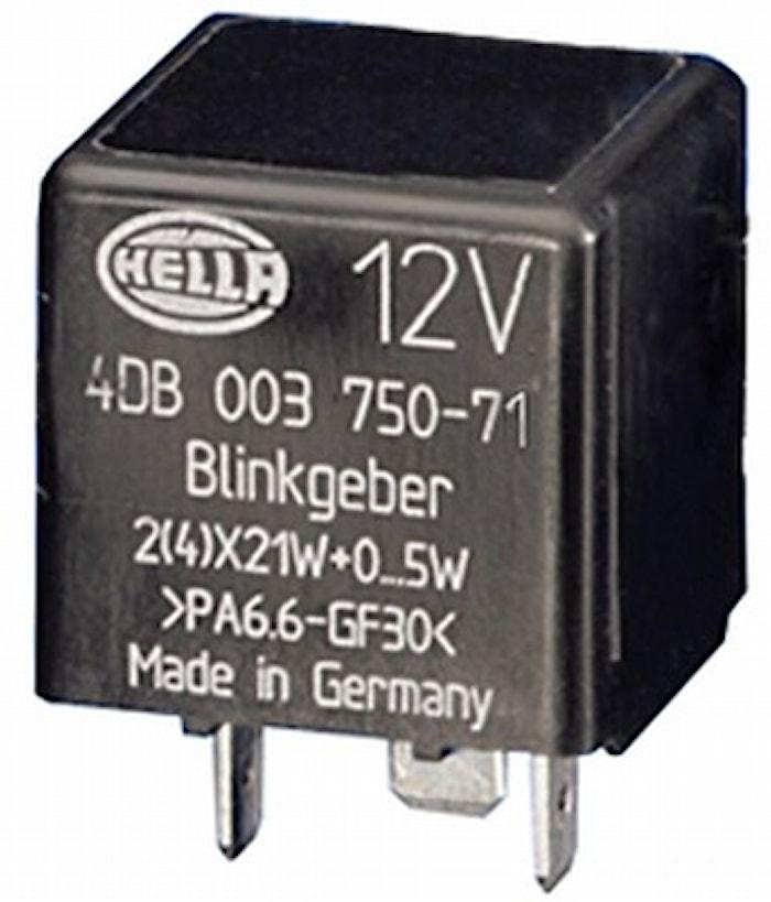 Blinkrelä 12V 3-ansl 2(4)x21+5