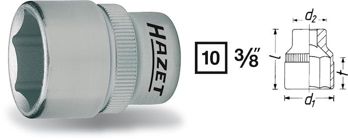 "Hylsa 3/8"" 14 mm"