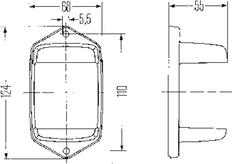 Skyddshållare för blinkl 2652