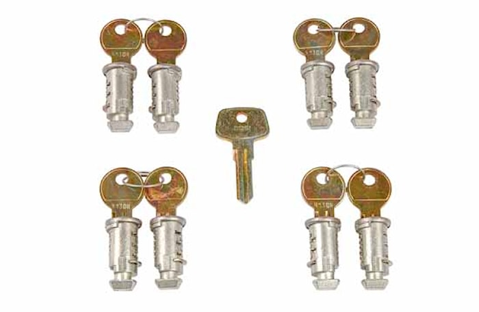Låssats One Key-system 8-pack