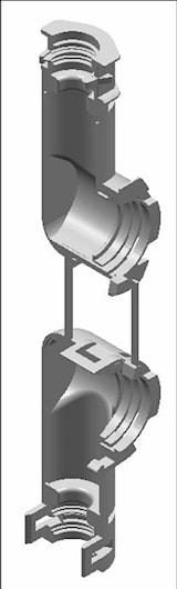 Adapter 90° VKR/VKS, NW 10