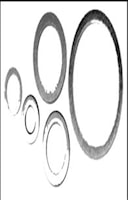 Aluminiumbricka 24x30x2 mm