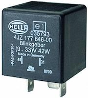 Blinkrelä 9-33V för LED