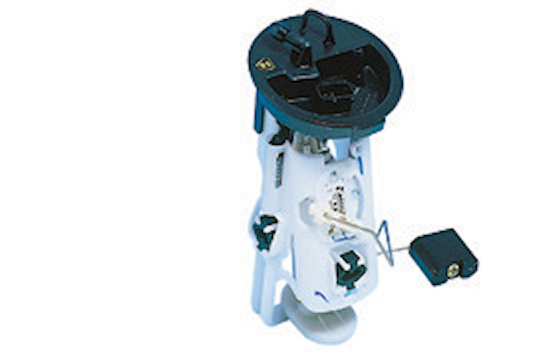 Pump med hållare